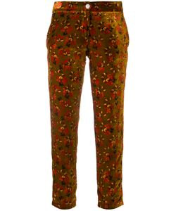 Roseanna | Print Cropped Trousers Women