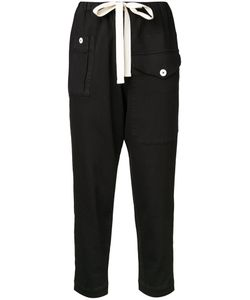 Bassike | Cropped Trousers 6 Cotton