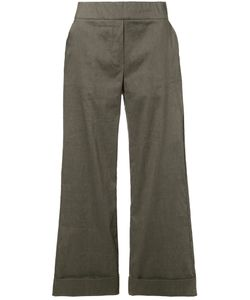 D.exterior | Cropped Wide Leg Trousers Size