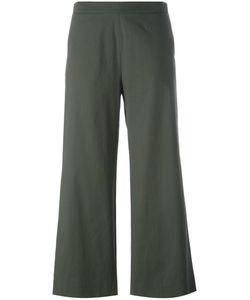 Fabiana Filippi | Cropped Trousers 44 Cotton/Polyester/Spandex/Elastane