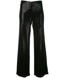 Giorgio Armani | Sequin Palazzo Pants 40 Polyamide/Polyester/Spandex/Elastane/Viscose