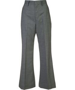 JUNYA WATANABE COMME DES GARCONS | Junya Watanabe Comme Des Garçons Striped High-Waisted Trousers Small