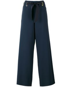 Alberta Ferretti | Drawstring Fla Pants 40 Acetate/Rayon/Other Fibers
