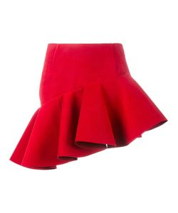 JACQUEMUS | Asymmetric Mini Skirt 40 Polyester