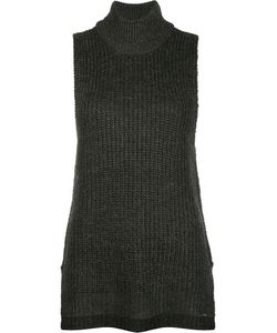 Obey | Knitted Tank Top Small Acrylic/Nylon/Wool/Alpaca