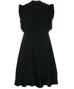 Red Valentino | Sleeveless Lace Inset Dress