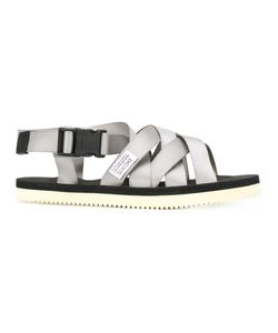 Suicoke | Push Buckle Cross Strap Sandals Size 5