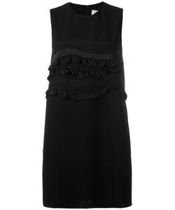 Victoria, Victoria Beckham | Victoria Victoria Beckham Frill Detail Sleeveless Dress