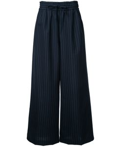 Muveil | Striped Wide Leg Trousers