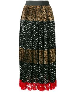 Dolce & Gabbana | Leopard And Dot Print Skirt