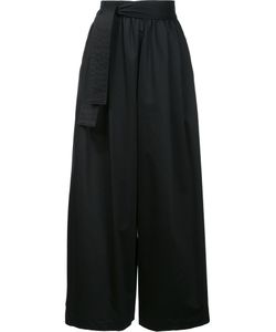 TOME | Wide-Legged Cropped Trousers 2 Cotton