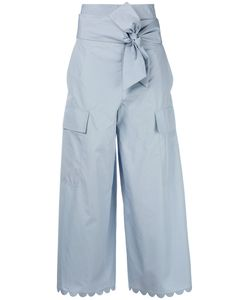 See By Chloe | See By Chloé Cropped Palazzo Pants 38 Cotton