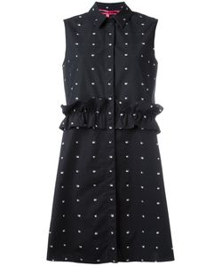 Mcq Alexander Mcqueen | Swallow Print Sleeveless Shirt Dress 40