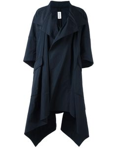 MATICEVSKI | Asymmetric Oversized Coat 6 Nylon/Cotton