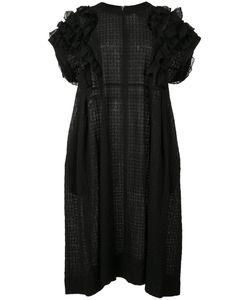 Tricot Comme des Garçons   Comme Des Garçons Tricot Ruffle Detail Dress Small