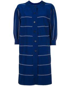 ROSSELLA JARDINI   Stitching Detail Coat Size 42