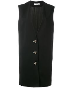 Lanvin | Embellished Fastening Sleeveless Coat
