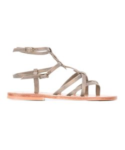 K. Jacques | Larissa Sandals 39 Leather