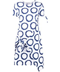 J.W. Anderson | J.W.Anderson Printed Tie Knot Dress Xs Cotton