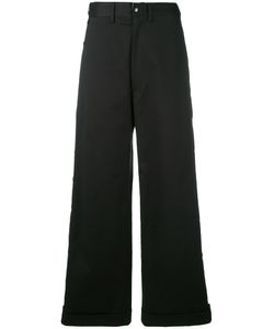 Faith Connexion | Buttoned Wide-Leg Trousers