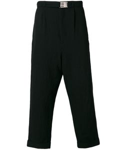 Maison Mihara Yasuhiro | Loose Fit Cropped Trousers Men