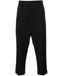 Rick Owens | Drop-Crotch Cropped Trousers 52 Virgin Wool/Viscose/Cupro
