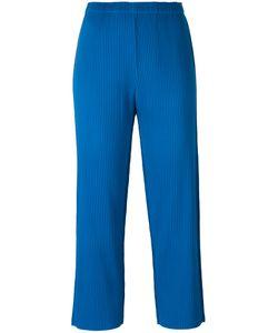 Issey Miyake Cauliflower | Cropped Pants Polyester