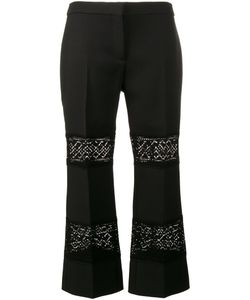 Alexander McQueen | Lace Insert Cropped Trousers Size 40