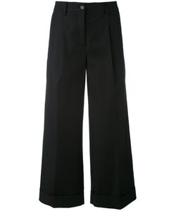 P.A.R.O.S.H. | P.A.R.O.S.H. Cropped Wide Leg Trousers