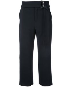 LE CIEL BLEU | Cropped Belt Trousers Size 36