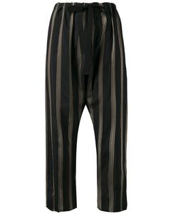 Hache | Striped Cropped Trousers Size 42