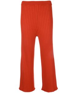 LE CIEL BLEU | Knitted Cropped Trousers Size