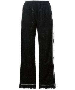 Dolce & Gabbana | Lace Palazzo Pants 38 Cotton/Viscose/Polyamide/Silk