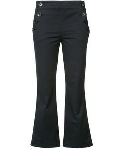 Hache | Cropped Sailor Trousers 40