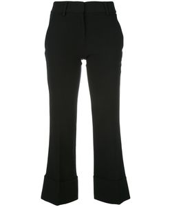Versus | Cropped Trousers 46 Polyester/Spandex/Elastane