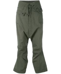 Rundholz | Striped Cropped Trousers Size Medium