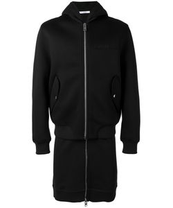 Givenchy | Logo Plague Zip Coat Small Cotton/Viscose