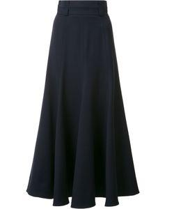 Gabriela Hearst   High-Rise Ruffled Skirt 42 Virgin Wool/Spandex/Elastane