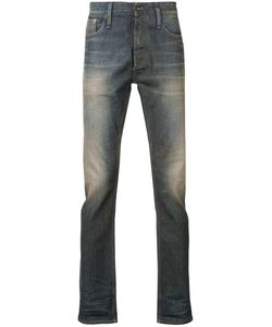 Denham | Faded Effect Jeans 36/34 Cotton/Spandex/Elastane