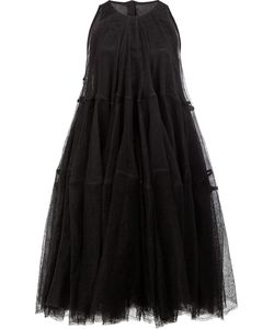 Rick Owens | Tulle Laye Tie Dress 38 Linen/Flax/Cupro