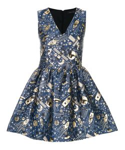 Frankie Morello | Jacquard Flared Dress Women