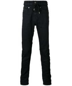 Diesel Black Gold | High Waist Drawstring Skinny Jeans