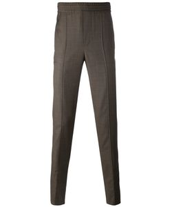 Neil Barrett | Elastic Waist Seamed Trousers Cotton/Virgin
