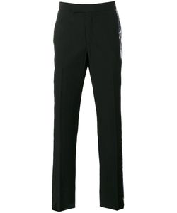 Yang Li | Printed Sides Tailored Trousers Size 46 Virgin