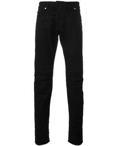 Pierre Balmain | Panelled Slim-Fit Jeans 32 Cotton/Spandex/Elastane