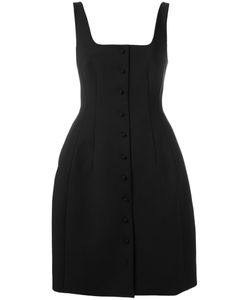 Sara Battaglia | Buttoned Pouf Dress Size