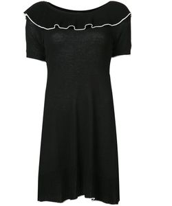 BOUTIQUE MOSCHINO | Frill Neck Dress Size 38