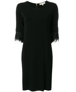 Michael Michael Kors | Платье С Отделкой Перьями