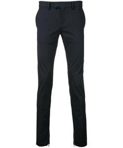Factotum | Striped Tailo Pants 48 Rayon/Polyester/Polyurethane