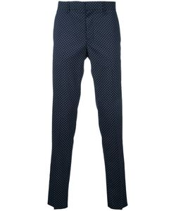 Factotum | Dots Print Pants 48 Wool/Polyester
